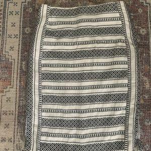 Embroidered Ann Taylor Loft Skirt